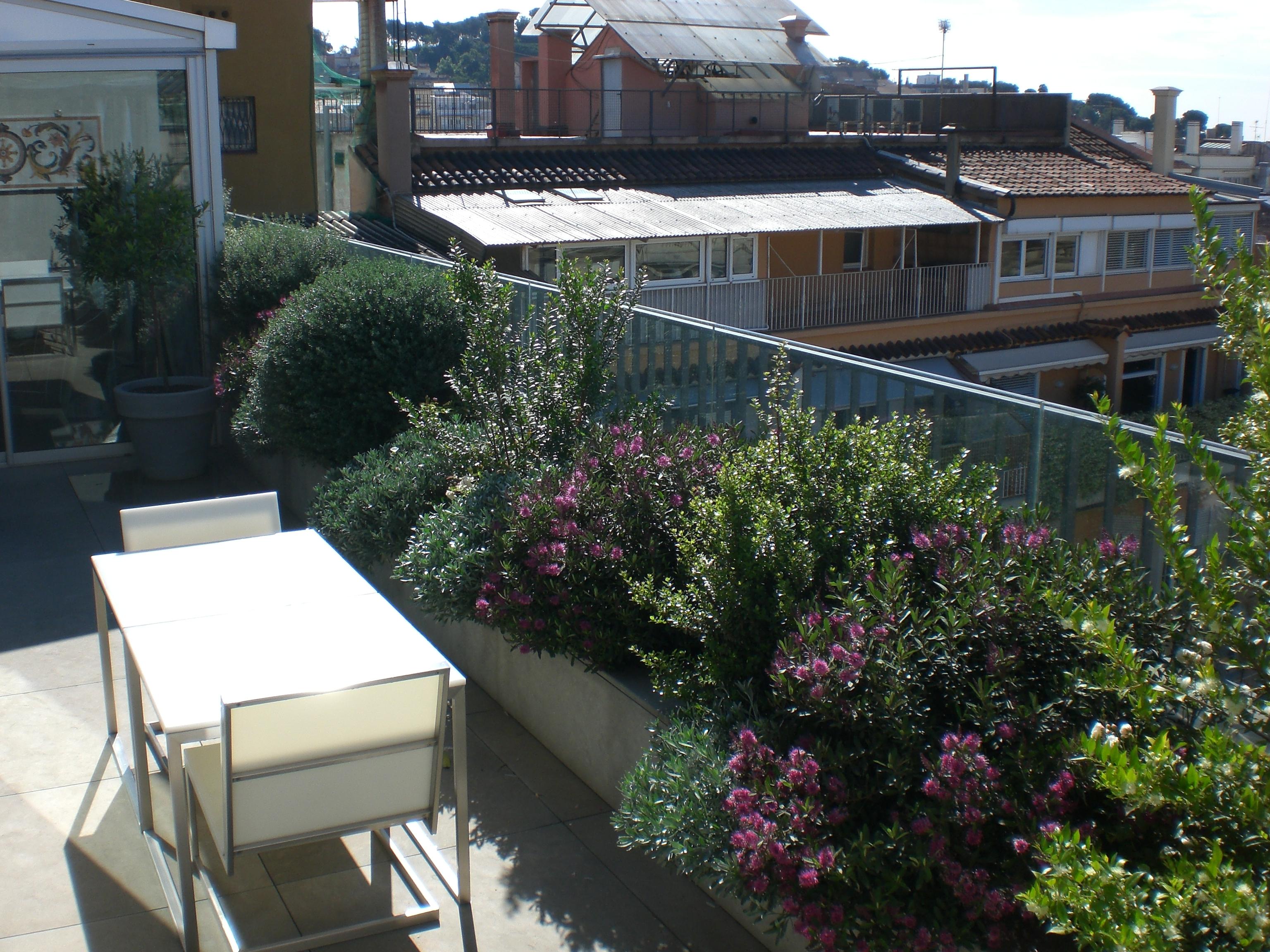 Proyecto de jardiner a en d plex en barcelona proyectos for Jardineria barcelona